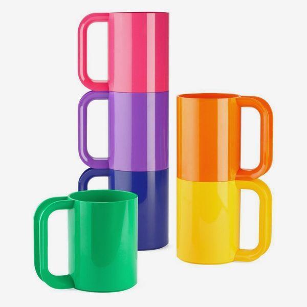 Heller Dinnerware Vignelli Rainbow Mug — Set of 6