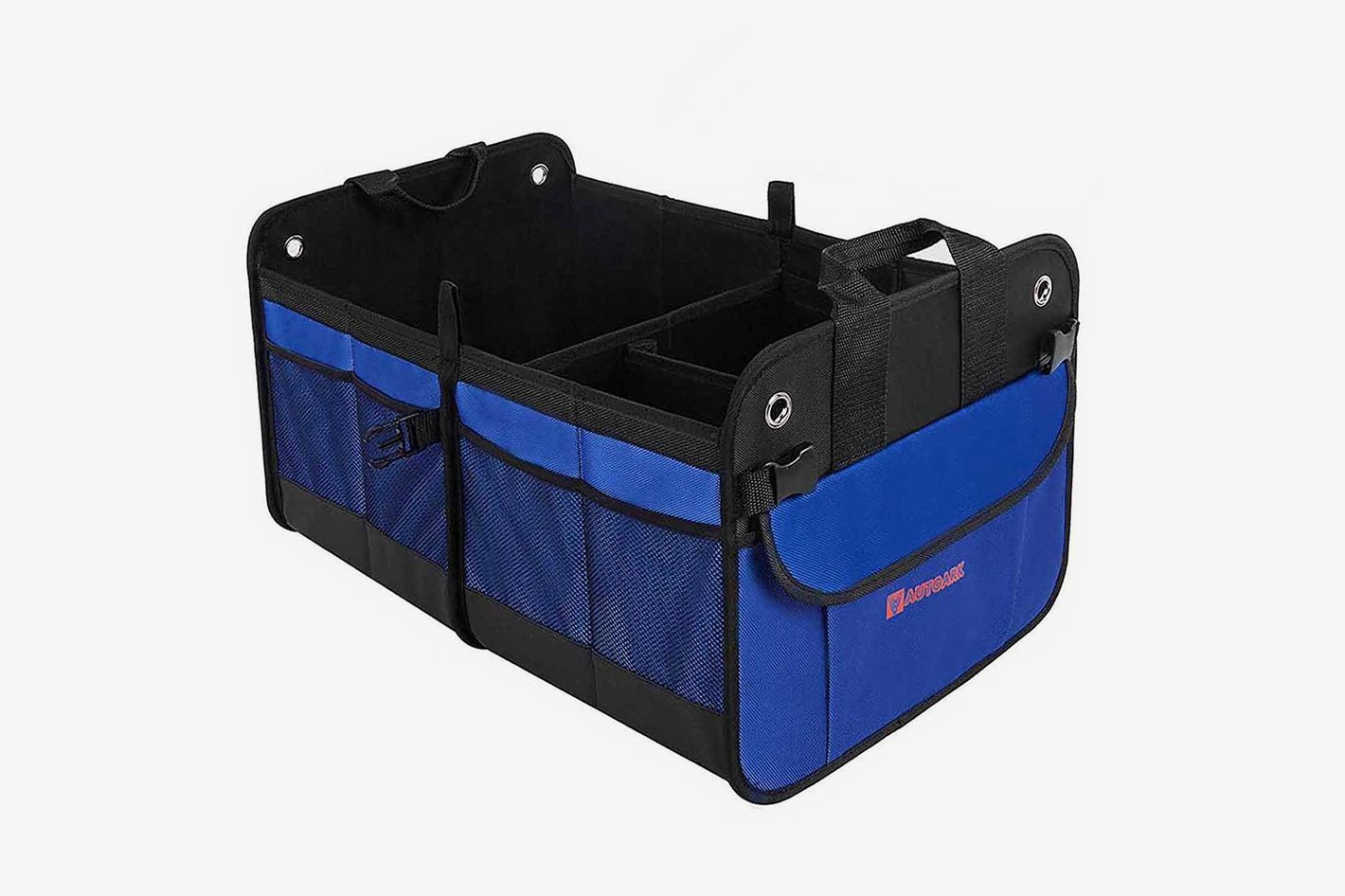 Autoark Multipurpose Car SUV Trunk Organizer, Waterproof Bottom With Velcro Strips to Prevent Sliding