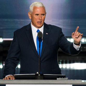 Mike Pence Accepts the Republican Nomination for Vice President