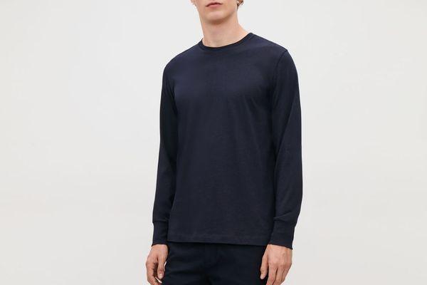 COS Basic Long-Sleeved T-Shirt