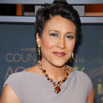 Robin Roberts attends the revealing of the