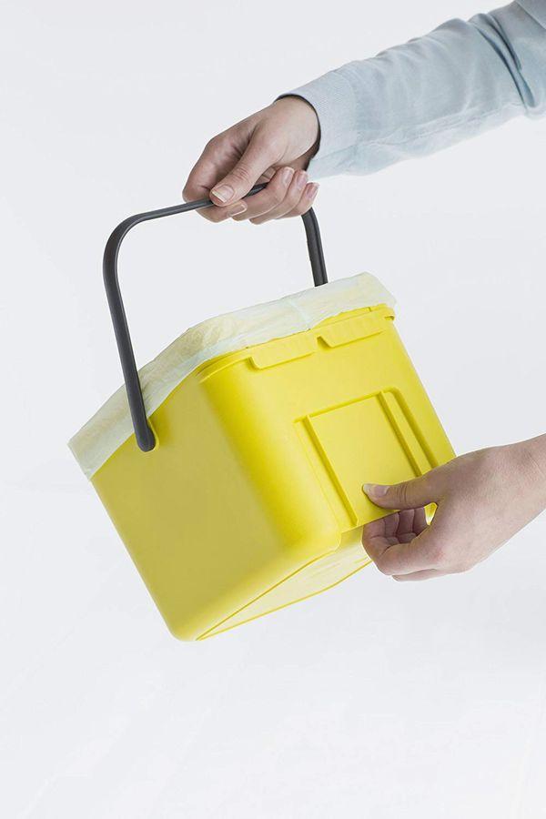 Brabantia Sort & Go Waste Bin, Yellow