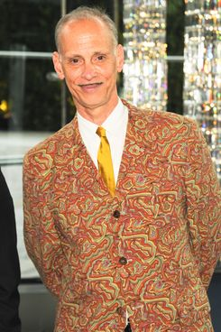 John Waters wearing Comme des Garçons at the CFDA Awards.