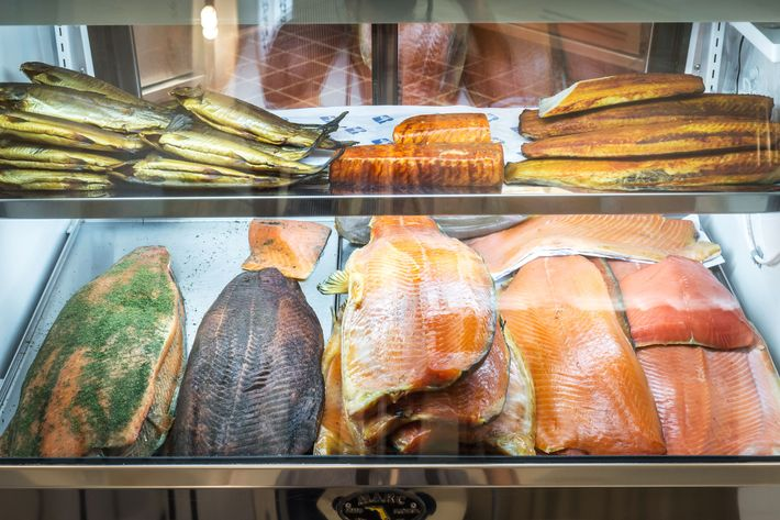 The smoked fish you know and love.