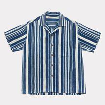 Sari-Sari General Store Indigo Stripe Shirt