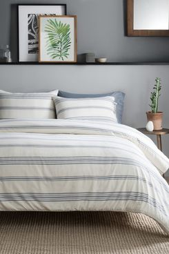 Pendleton Ticking Stripe Queen 3-Piece Comforter Set