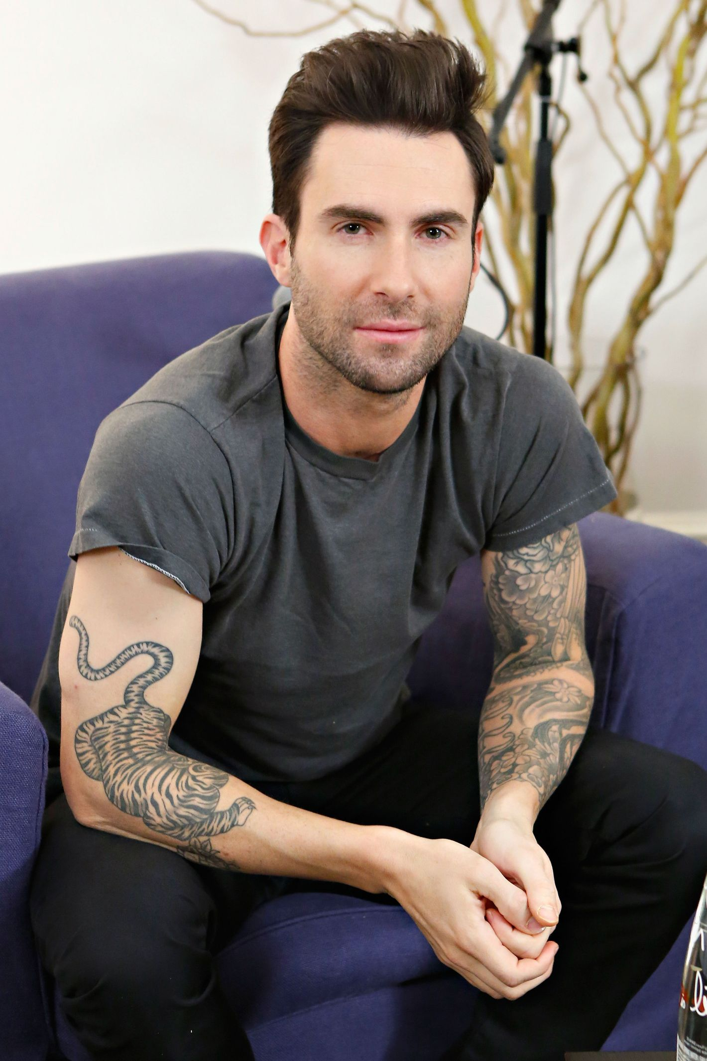 An exhaustive taxonomy of adam levines tattoos for Adam levine tiger tattoo