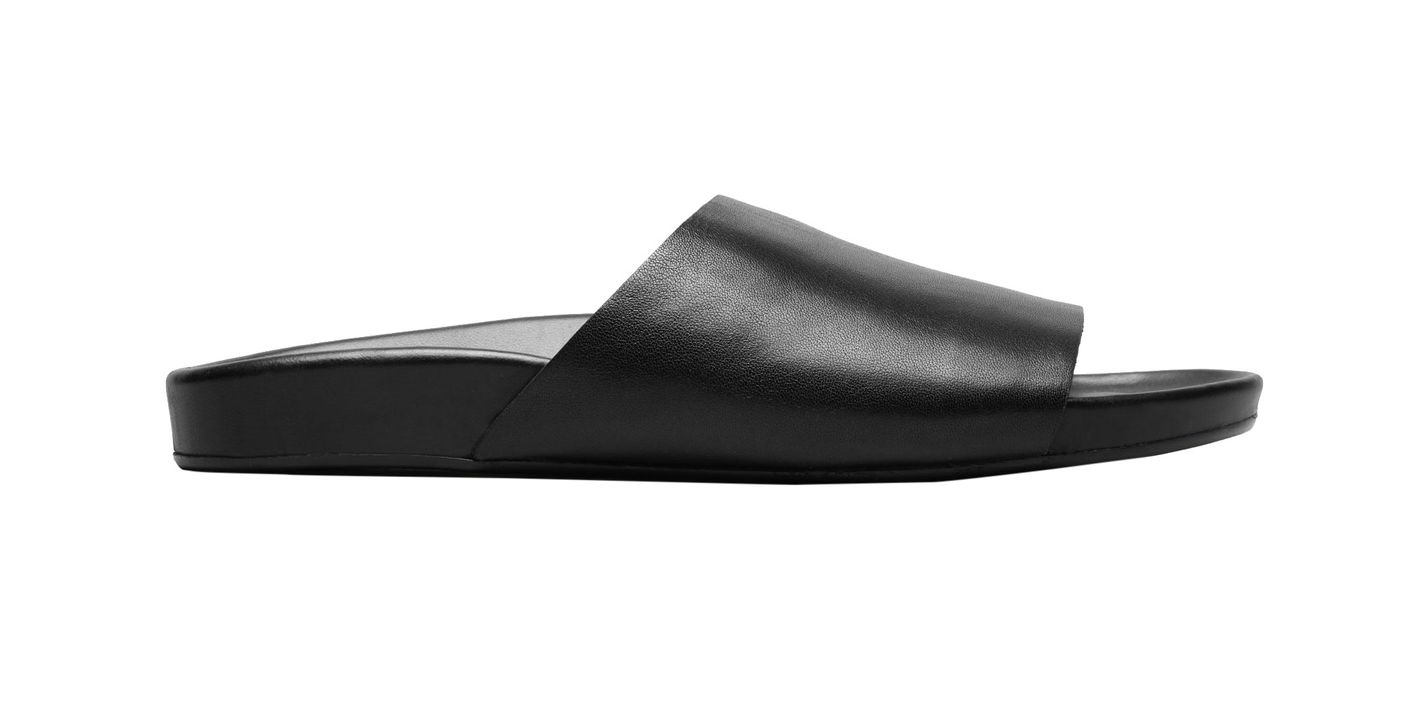 Everlane Black The Form Slide Sandal