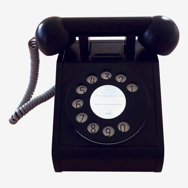 Kiko+ and GG* Wooden Play Phone, Black