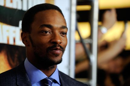 "Actor Anthony Mackie arrives at the world premiere of Twentieth Century Fox and New Regency's film ""Runner Runner"" at Planet Hollywood Resort & Casino on September 18, 2013 in Las Vegas, Nevada."