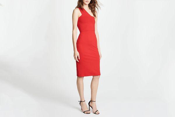 Susana Monaco One-Shoulder Dress