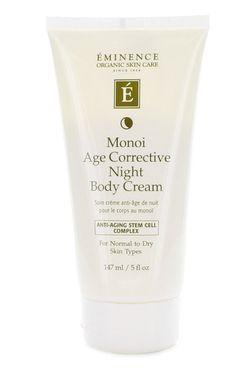 Eminence's Monoi Age Corrective Night Body Cream