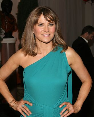 Actress Lucy Lawless attends the STARZ Original Series
