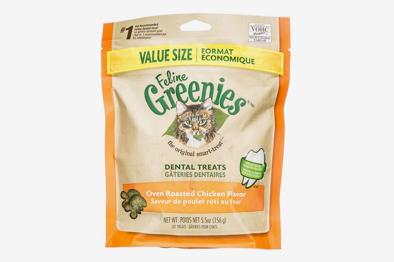 Greenies Feline Oven Roasted Chicken Flavor Dental Cat Treats