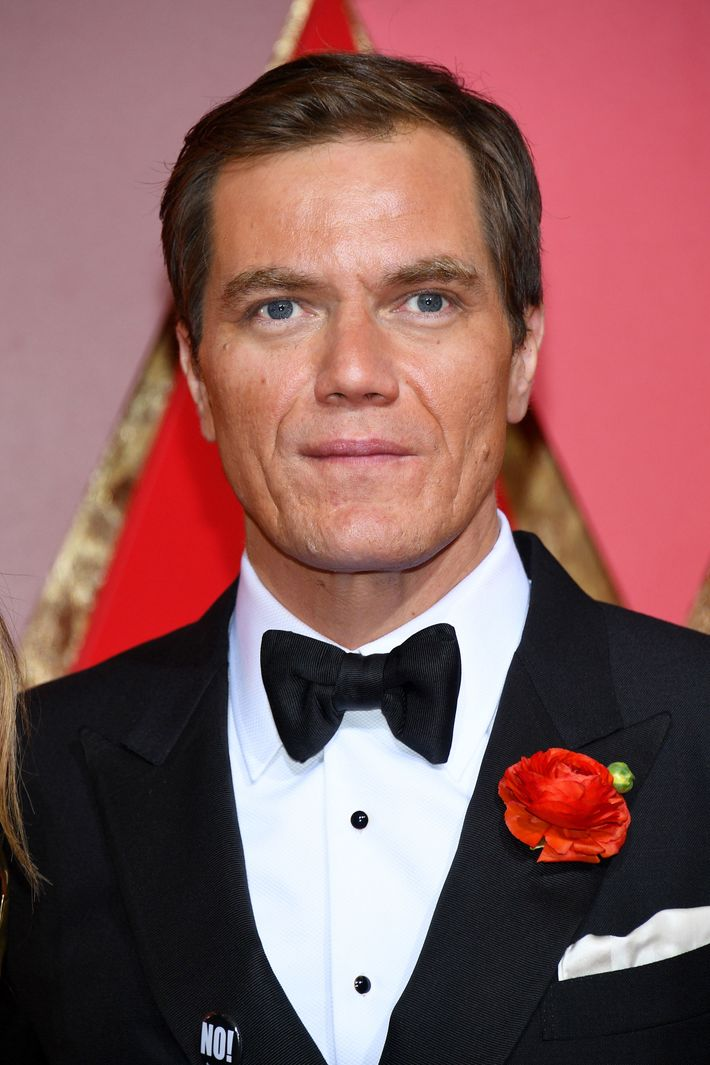 Michael Shannon S Wears Quot No Quot Pin To The Oscars