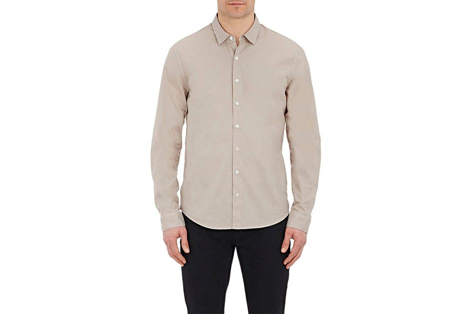 ATM Anthony Thomas Melillo Solid Voile Shirt