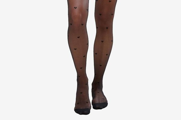 Asos All Over Heart Tights