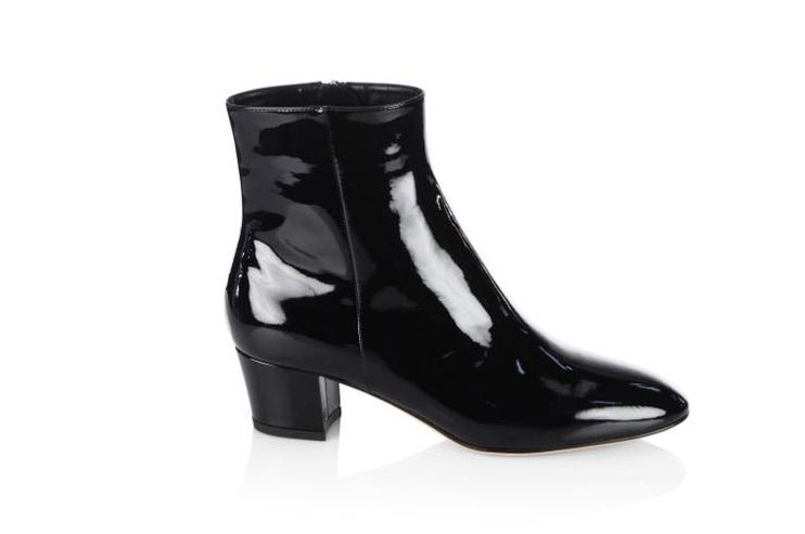Gianvito Rossi Patent Leather Booties