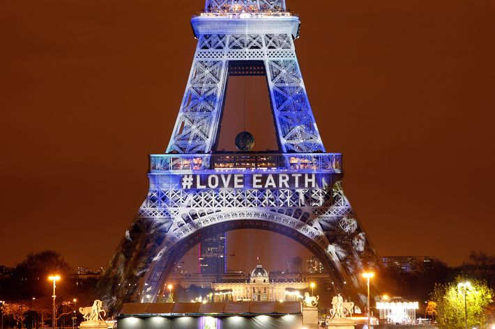 """""""One Heart One Tree"""" : Naziha Mestaoui's Project At The Eiffel Tower In Paris"""