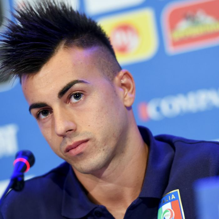 Stephan El Shaarawy, the Italian footballer