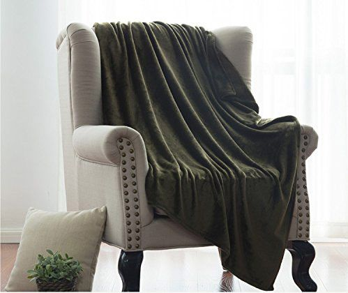 Flannel Fleece Luxury Blanket Throw by Bedsure