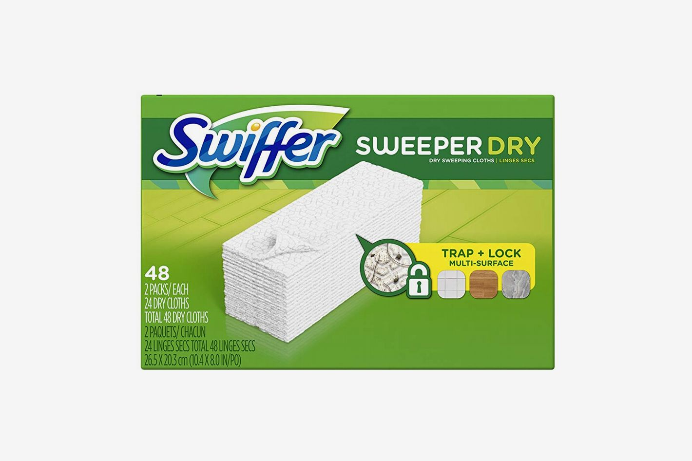 Swiffer Sweeper Dry Sweeping Cloth Refills, 48-Count