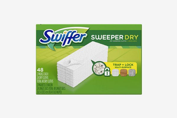 Swiffer Sweeper Dry Sweeping Cloth Refills, 52-Count