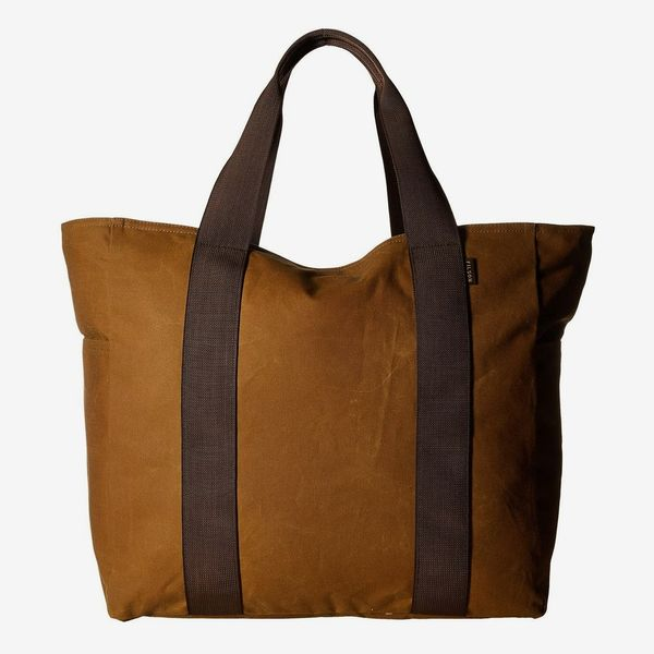 Filson Large Grab 'n' Go Tote in Dark Tan