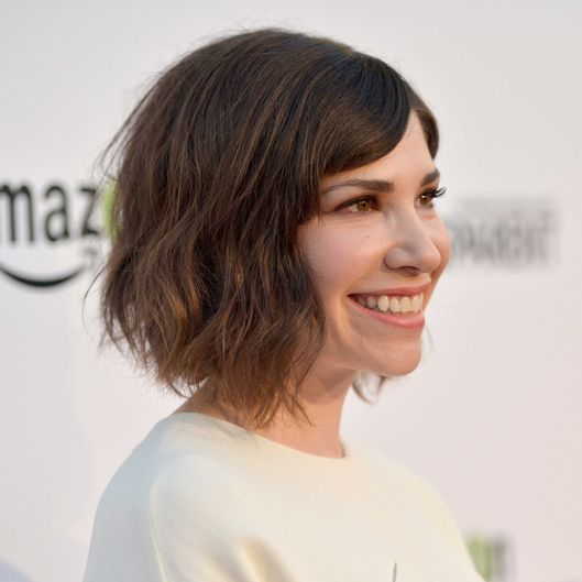 "Actress Carrie Brownstein attends the  premiere screening for ""Transparent"" on September 15, 2014 in Los Angeles, California."