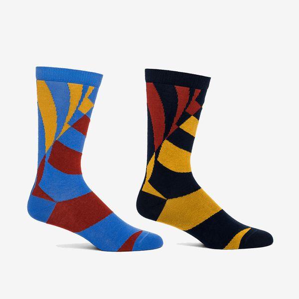 Frank Lloyd Wright Store Spiraling Ramp Socks