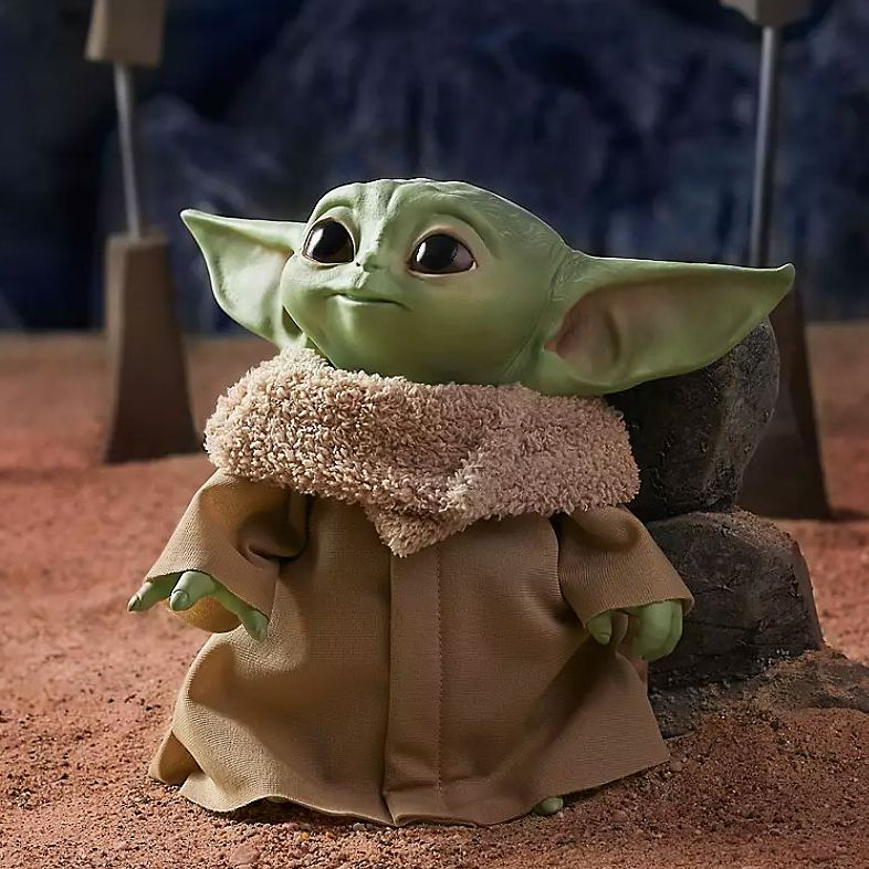 Disney Releases Plus Baby Yoda The Child Toy Photo