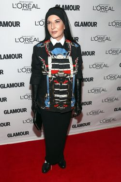 NEW YORK, NY - NOVEMBER 11:  Marina Abramovic attends the Glamour Magazine 23rd annual Women Of The Year gala on November 11, 2013 in New York, United States.  (Photo by Paul Zimmerman/WireImage)