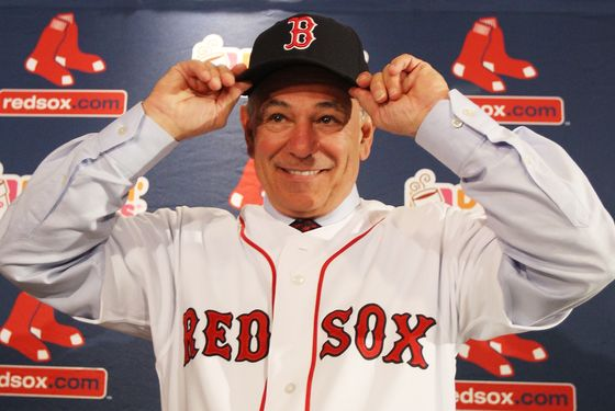 BOSTON, MA - DECEMBER 01:  Bobby Valentine attends a press conference introducing him as the new manager of the Boston Red Sox at Fenway Park on December 1, 2011 in Boston, Massachusetts.  (Photo by Elsa/Getty Images)