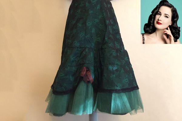 Taffeta and Tulle Petticoat