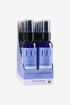 EO Organic Hand Sanitizer Spray: French Lavender, 6-Count