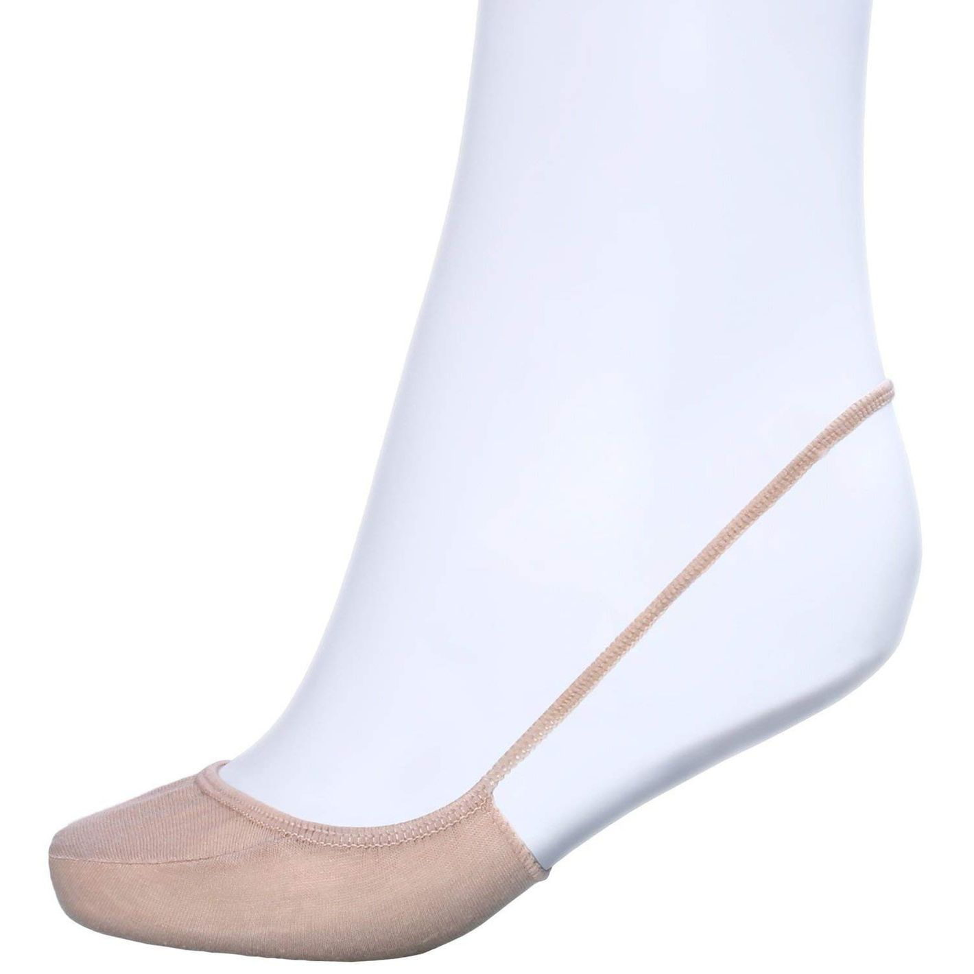 Sanvan Women's Low-Cut No-Show Half Socks With Sling Back