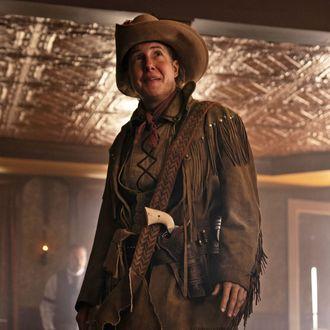 Deadwood: The Movie star Robin Weigert.