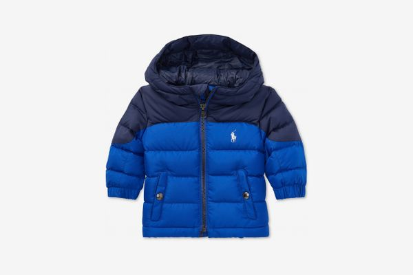 Ralph Lauren Baby Boy's Ripstop Down Jacket
