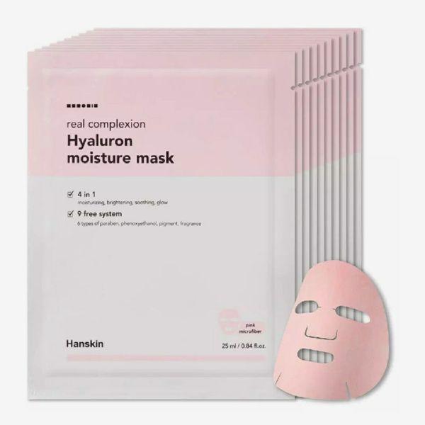 Hanskin Real Complexion Hyaluronic Moisture Mask