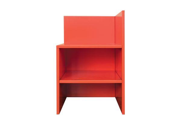 """Corner Chair 15,"" in various colors"