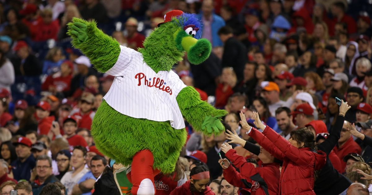 The Phillie Phanatic Evolves, Leaving Terrifying Biological Questions Unanswered