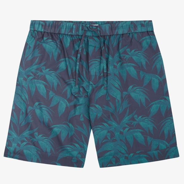 Byron Tropical Print Pyjama PJ Shorts