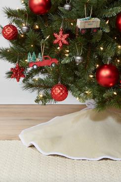 Target Wondershop Reversible Linen Christmas-Tree Skirt
