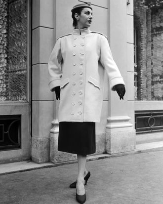 A Cheviot coat in 1954.