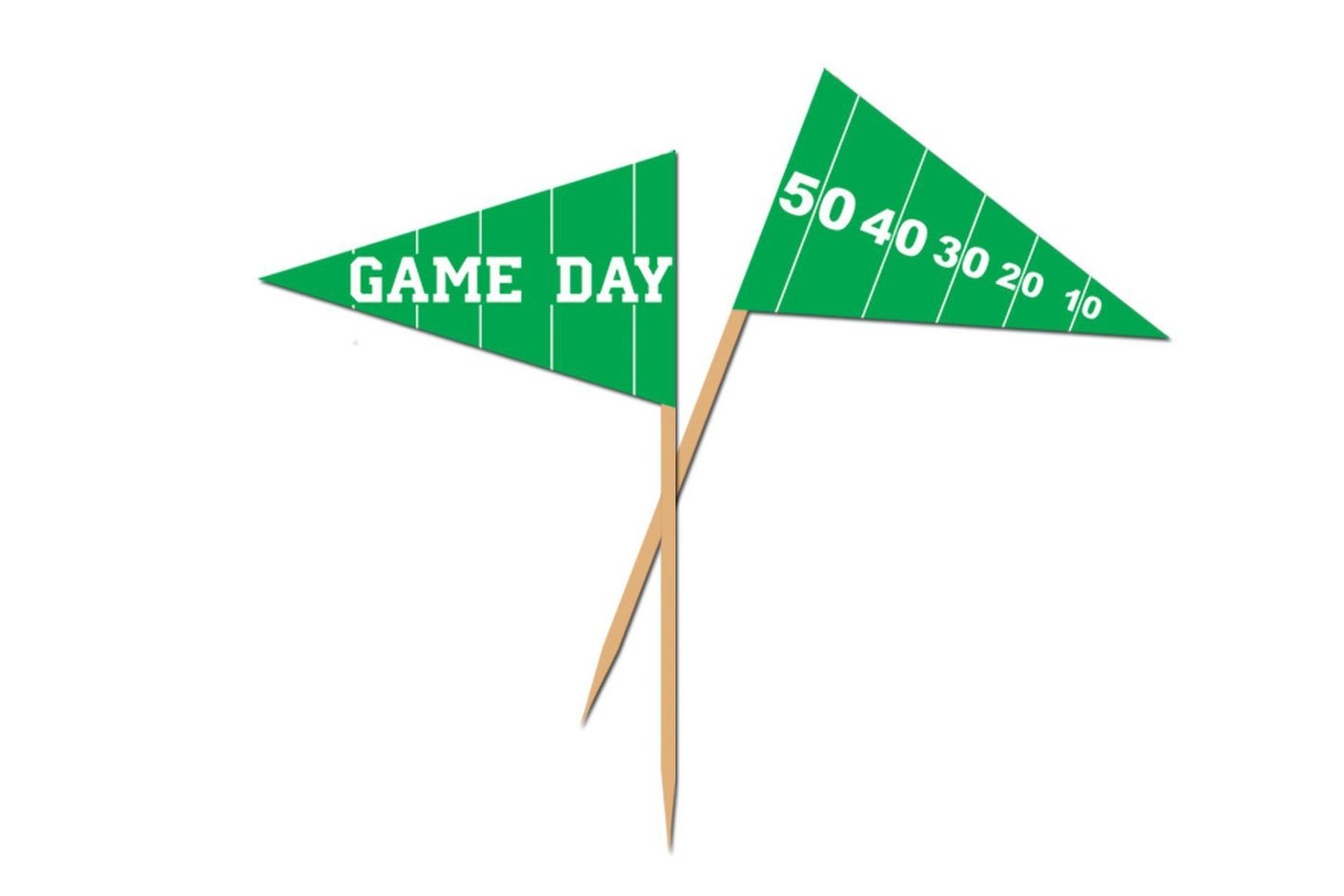 Beistle 50-Pack Game Day Football Picks