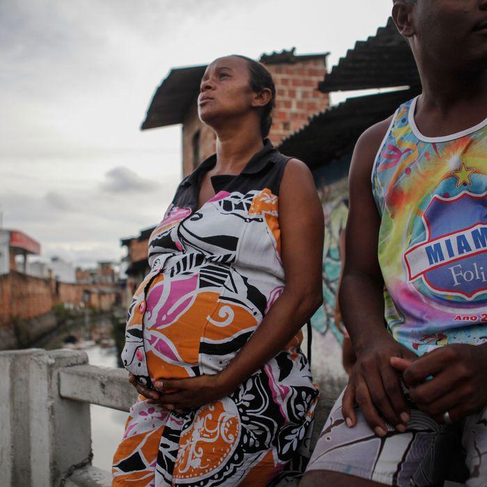 Pregnant women in Brazil.