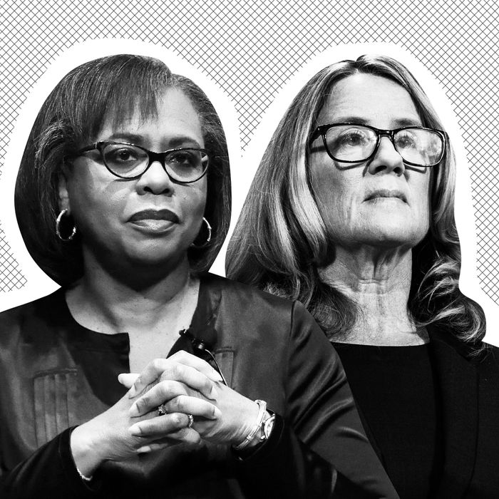 Anita Hill, Christine Blasey Ford.