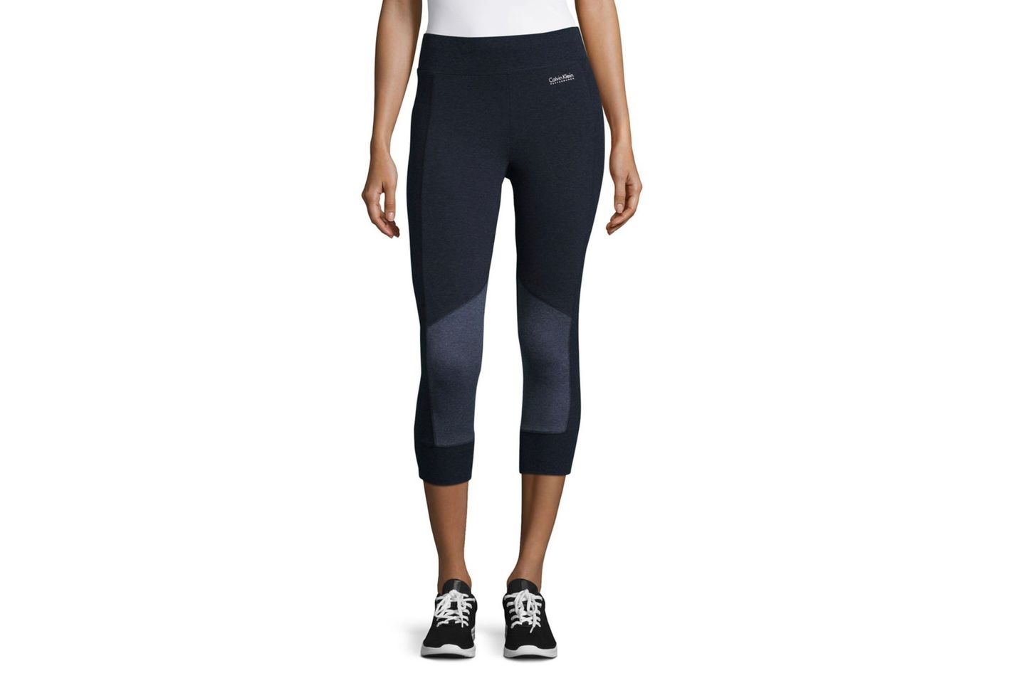 Calvin Klein Performance Colorblocked Cropped Performance Pants