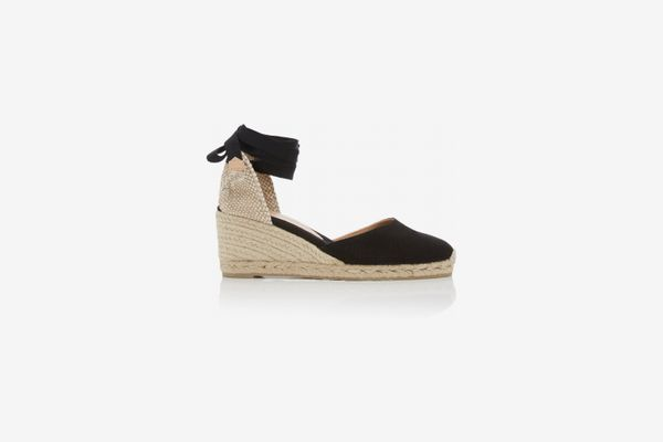 Castañer Carina Canvas Wedge Sandals