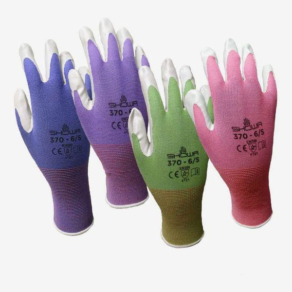 Showa Atlas Nitrile Garden Gloves, 6-Pack